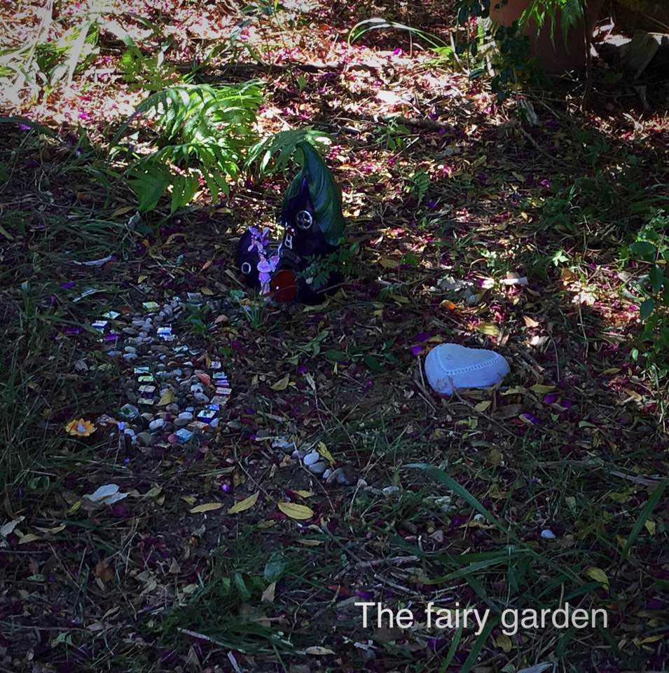 WELCOME TO THE FAIRY GARDEN